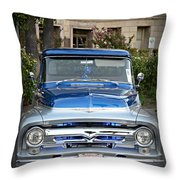 Lower Ford Truck Throw Pillow