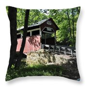 Lower Humbert Bridge Throw Pillow