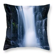Lower Johnson Falls 3 Throw Pillow