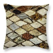 Lower Levels Throw Pillow