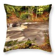 Lower Tahquamenon Falls 1 Throw Pillow