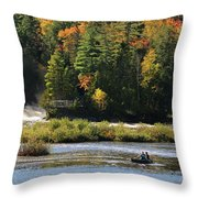 Lower Tahquamenon Falls  4351 Throw Pillow