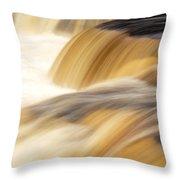 Lower Tahquemenon Falls Throw Pillow
