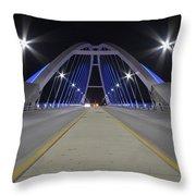 Lowery Street Bridge Throw Pillow