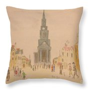 Lowry And Shadow Of Japan Throw Pillow