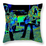 Ls #40 Enhanced Cosmically Throw Pillow