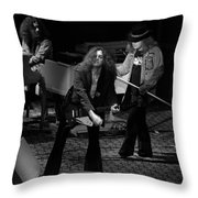 Ls #42 Crop 2 Throw Pillow