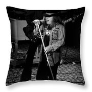 Ls #47 Crop 3 Throw Pillow