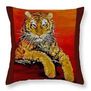 Lsu Tiger Throw Pillow