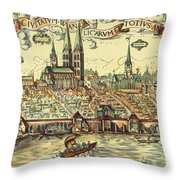 Lubeck, Germany Throw Pillow