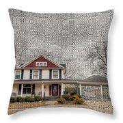 Lucas House Throw Pillow