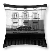 Lucas Movie House 1921 Throw Pillow