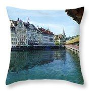 Lucerne 3 Throw Pillow