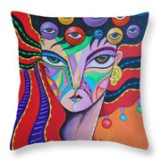 Lucia Throw Pillow