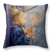 Luciana P. Throw Pillow