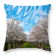 Lucid Throw Pillow