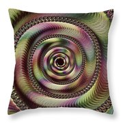 Lucid Hypnosis Abstract Wall Art Throw Pillow