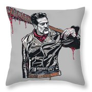 Lucille Is Thirsty Throw Pillow