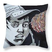 Lucille Picks Glenn Throw Pillow