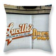 Lucille's Throw Pillow