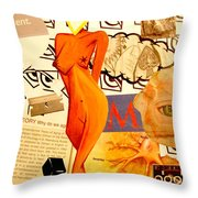 Luck Of The Draw Throw Pillow
