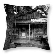 Luckenbach Texas Throw Pillow