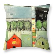 Lucky Man Throw Pillow