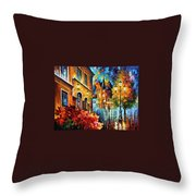 Lucky Night Throw Pillow