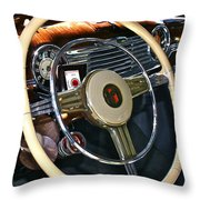 Lucky Strike Throw Pillow