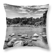 Luc's Cove   Throw Pillow