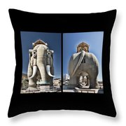 Lucy Coming And Going Throw Pillow