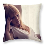 Lucy Rose Throw Pillow