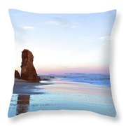 Lucy Vincent Cliffs Throw Pillow
