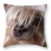 Lucys Smile Throw Pillow