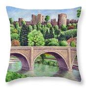 Ludlow Castle Throw Pillow