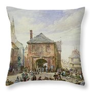 Ludlow Throw Pillow by Louise J Rayner