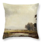 Ludwig Deutsch, Landscape Throw Pillow