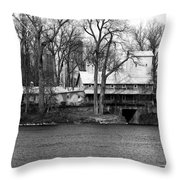 Ludwig Mill Throw Pillow