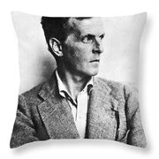 Ludwig Wittgenstein Throw Pillow