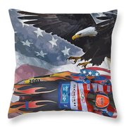 Luge Throw Pillow