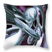 Lullaby Dreams Abstract Throw Pillow
