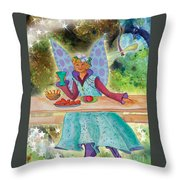 Lulu Beth Twinkle At The Banquet Throw Pillow