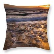 Lumaha'i Dawn Throw Pillow by Mike  Dawson