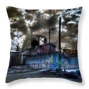 Lumber Mill Fantasy Throw Pillow