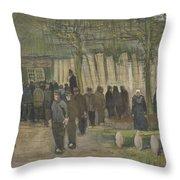 Lumber Sale Nuenen  January 1884 Vincent Van Gogh  1853  1890 Throw Pillow