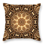 Kaleidoscope 86 Throw Pillow