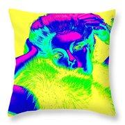 Luminescent Lynda Throw Pillow