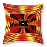Luminous Energy 12 Throw Pillow