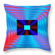 Luminous Energy 17 Throw Pillow by Will Borden