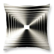 Luminous Energy 3 Throw Pillow